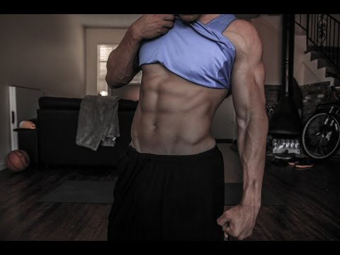Shredding 5 Minute HOME Ab Workout (For Teenagers) | Brendan Meyers