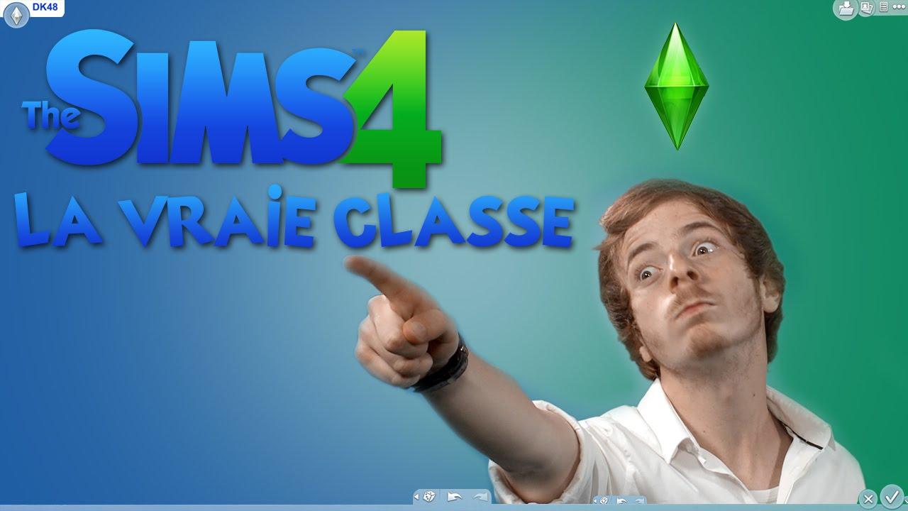 LA VRAIE CLASSE (Les Sims 4 dans la vie)