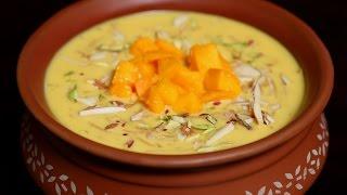 Mango Kheer | Easy Dessert Recipe | Mango Special  | Ruchi