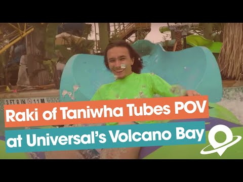 Taniwha Tubes on-ride footage at Universal's Volcano Bay water theme park