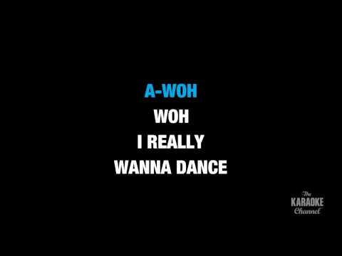 "I'm A Slave 4 U in the Style of ""Britney Spears"" karaoke video with lyrics (no lead vocal)"
