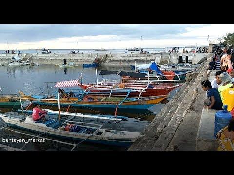 Boat Market On Bantayan Island, Cebu, Philippines