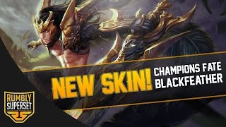 Vainglory News - CHAMPION'S FATE BLACKFEATHER [L]!! [Splash art + Model]
