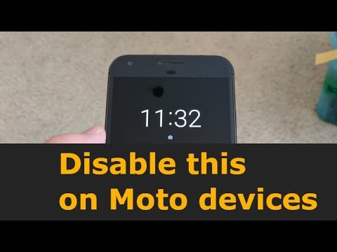 How to Disable