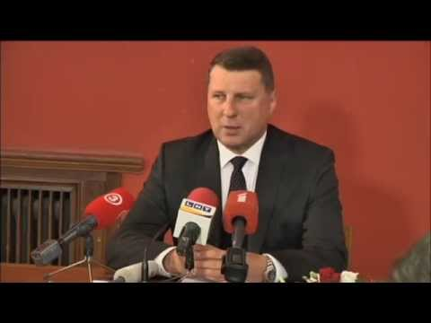 Latvia Elects new President: Defence Minister Raimonds Vejonis voted in as Latvia next president
