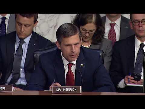 Heinrich Questions CIA Director Nominee Gina Haspel