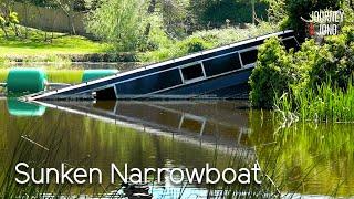6. I find a sunken Narrowboat & Sunny Hot Days on River Avon