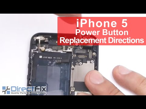 iPhone 5 Power Button Replacement in 8 Minutes