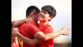 [全场集锦] 中国 vs 阿曼 韦世豪C罗附体独造3球   U23亚洲杯