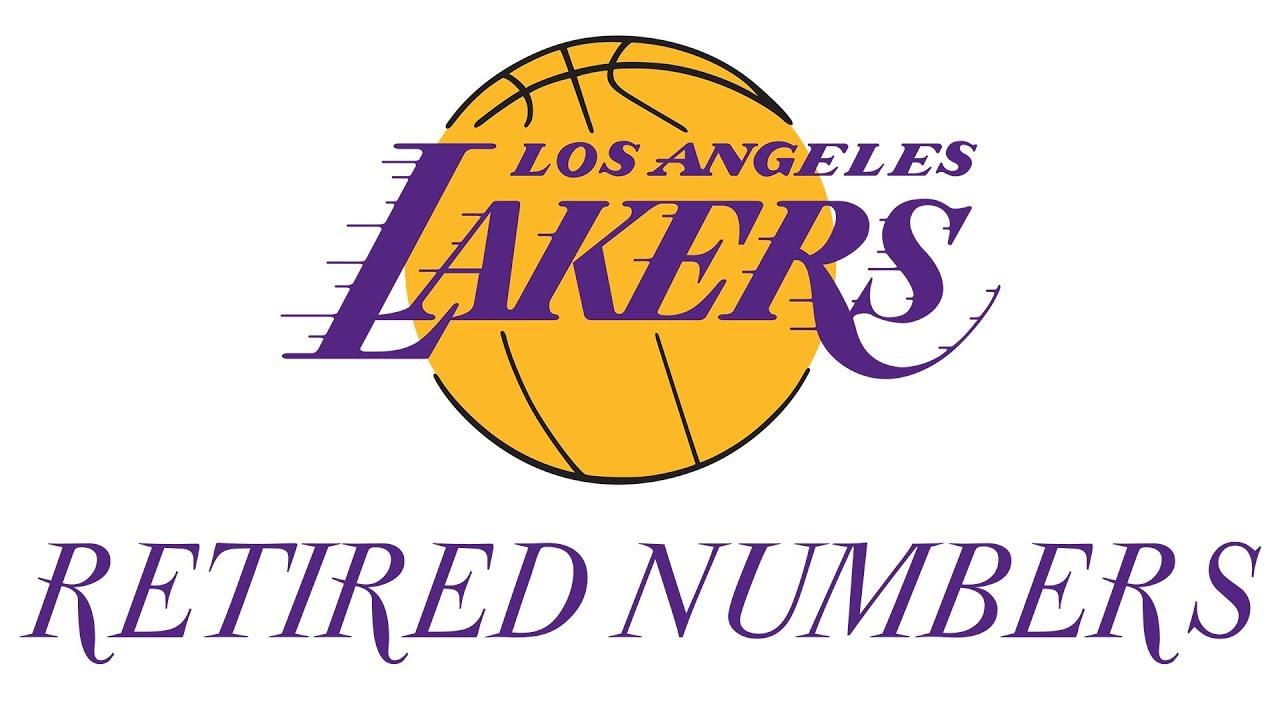 2fb5c103f LA Lakers Retired Numbers - YouTube
