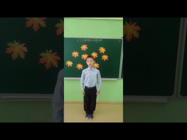 Изображение предпросмотра прочтения – ДмитрийЗаплечников читает произведение «Сухие листья (Сухие листья, сухие листья...)» В.Я.Брюсова