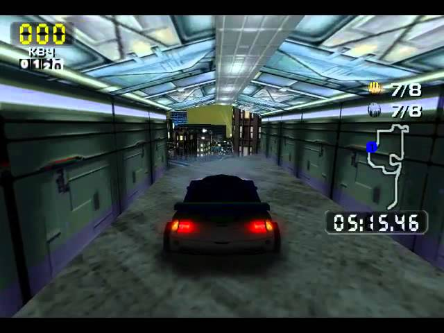 San Francisco RUSH 2049 [Dreamcast] (All coins, Race + Stunt) - Real-Time Playthrough