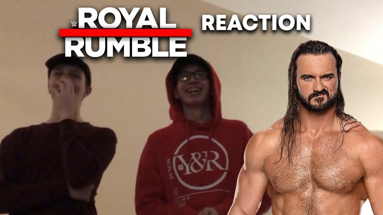DREW MCINTYRE WINS THE 2020 ROYAL RUMBLE REACTION! WWE ROYAL RUMBLE 2020 LIVE REACTION