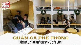 Quán Cà Phê Phòng Kín Đáo Như Khách Sạn Ở Sài Gòn
