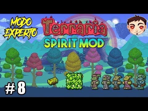 ¡EL MINERAL DE LOS FLORAN! - Terraria [Spirit Mod] EP. 8