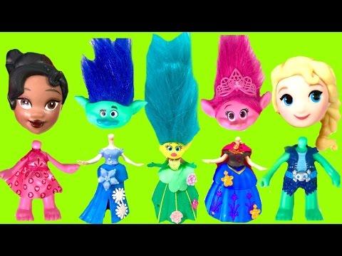 Disney Princesses and Trolls Poppy & Branch