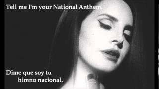 National Anthem - Lana del Rey (Subtítulos en inglés/español)