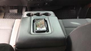 2015 GMC Sierra Wireless Phone Charger Armrest DIY