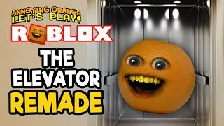 Roblox: The Elevator Remade! [Annoying Orange Plays]