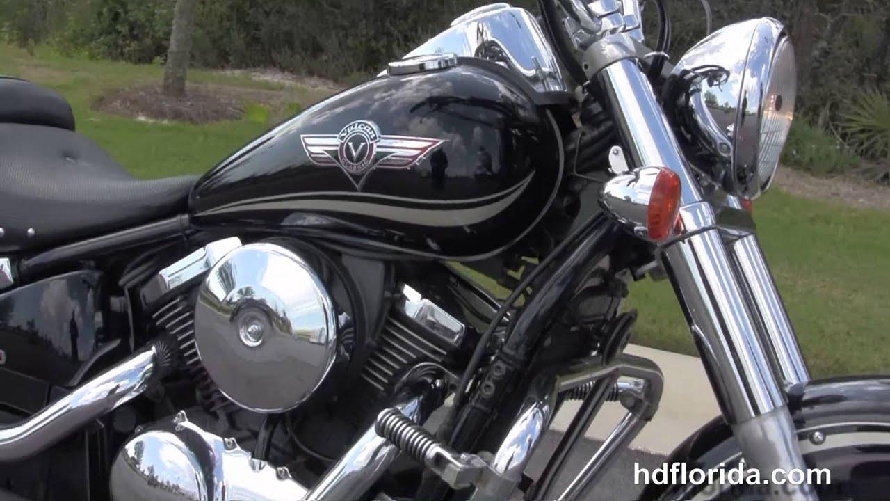 Used 2003 Kawasaki Vulcan 800 Clic Motorcycle for sale - YouTube