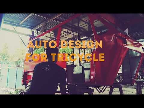 how to auto paint a tricycle