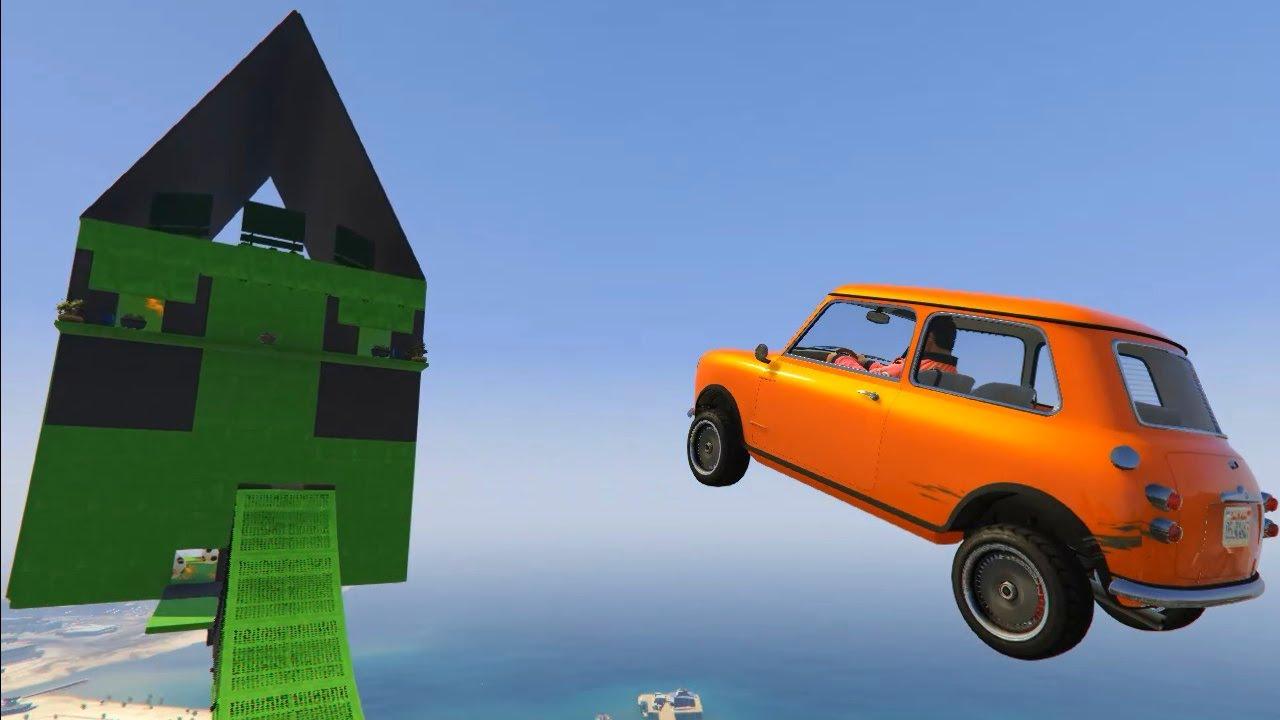 Download Mr Bean Mini Cooper Parkour - GTA 5