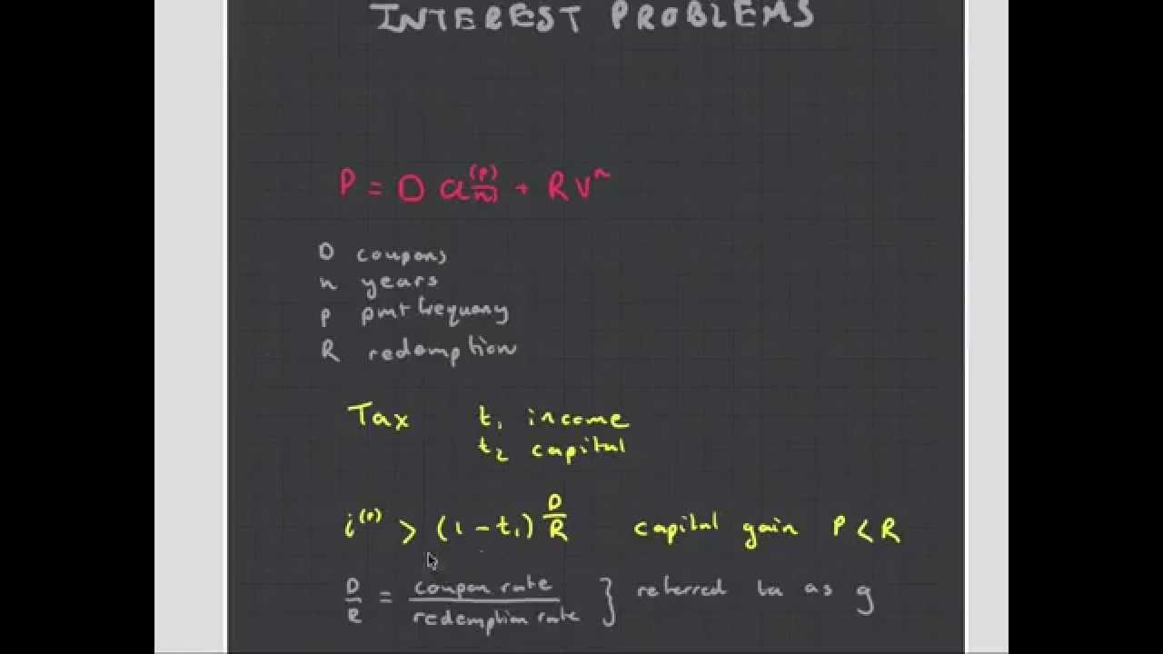 ct1 chapter 12 compound interest problems   actuarial