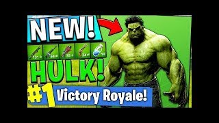 FORTNITE NEW HULK SKIN LIVE