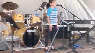 "Zoe Heiden sings ""Colors of the Wind"""