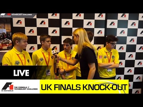 F1 in Schools UK National Final 2015 - Knock-out competition