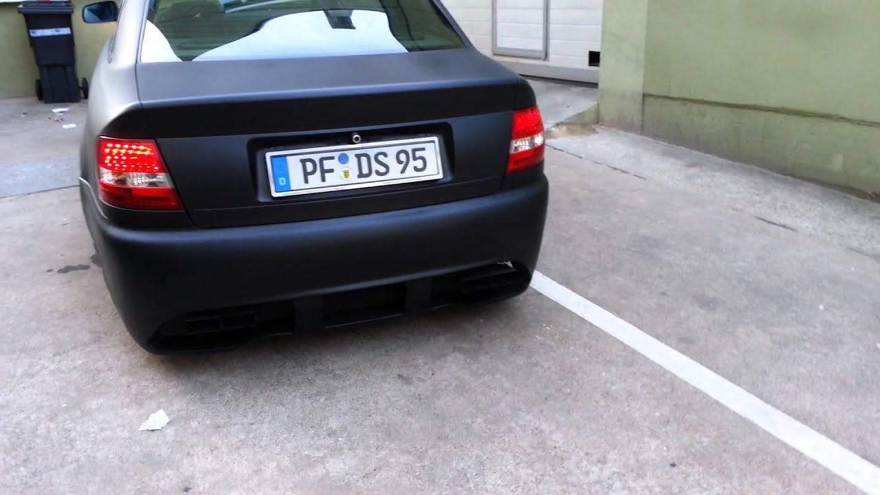 Audi A4 B5 Komplettgummierung Schwarz Matt By Vetter Fahrzeugdesign You