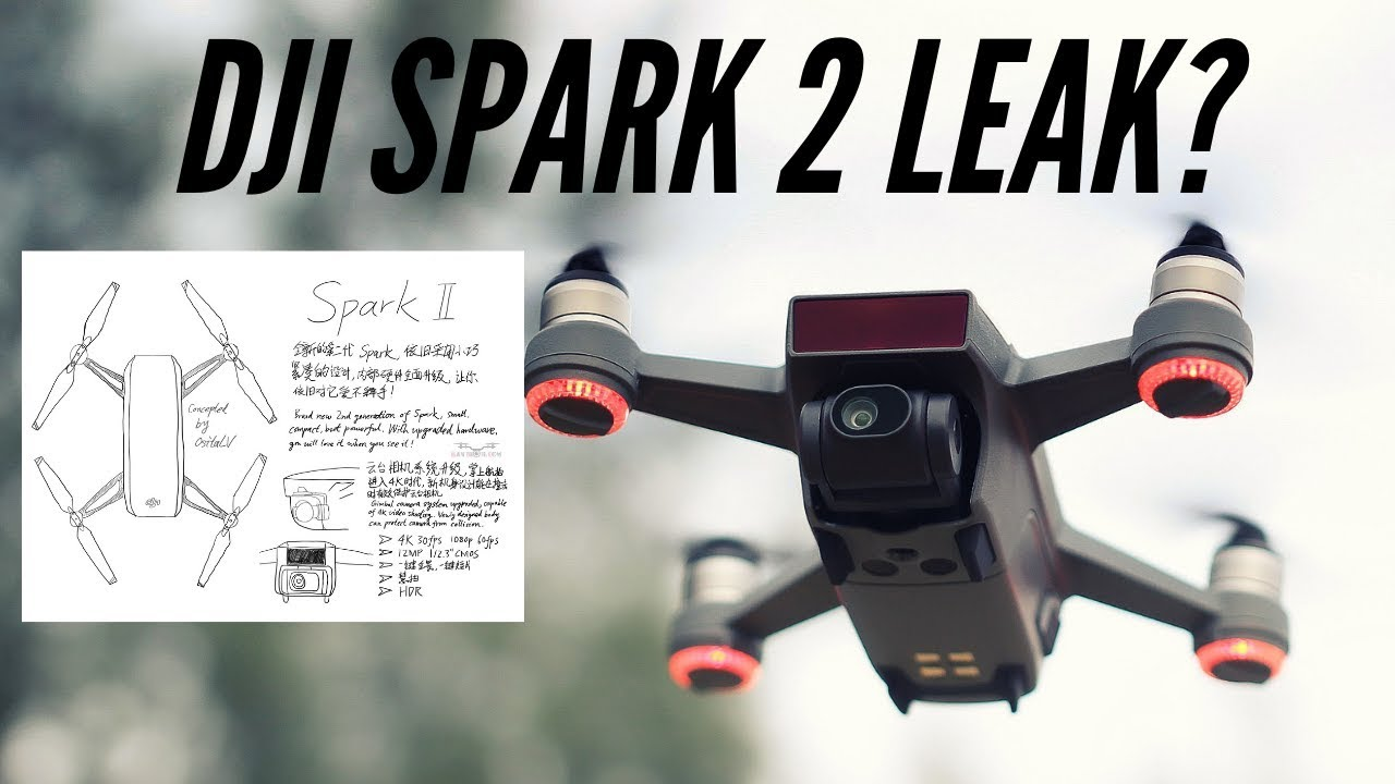 DJI Spark 2 Could Be Released This Year 2019