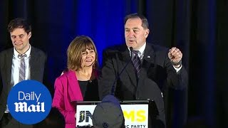Democrat Joe Donnelly concedes after losing to Mike Braun