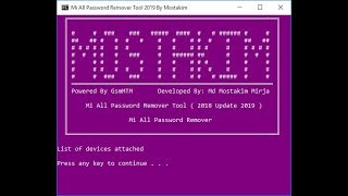 Xiaomi Devices Services Tool Exe