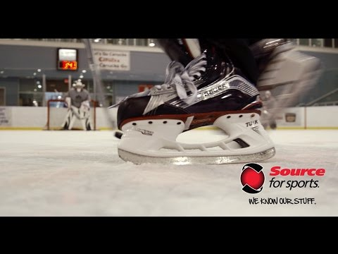 Bauer Vapor 1X Hockey Skate On-Ice Review | Source For Sports