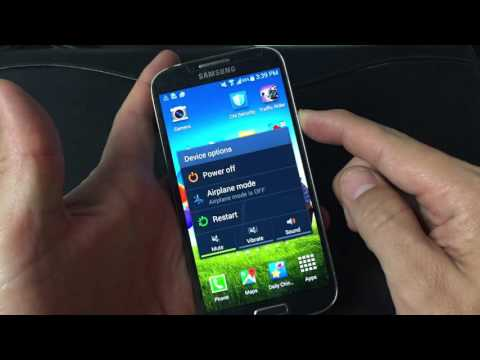 Galaxy S4: How to Wipe/Clear Cache Partition
