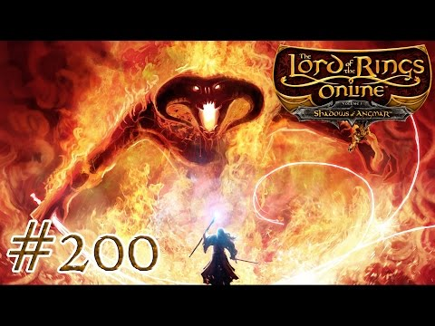 Let's Play LOTRO #200 - A Balrog of Morgoth! (200th Ep Special - Part 1)