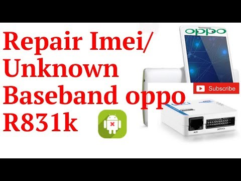 Repair IMEI Oppo R1001 Meta Mode without ROOT UFI BOX by Nath inc