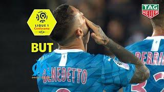But Dario BENEDETTO (23') / Amiens SC - Olympique de Marseille (3-1)  (ASC-OM)/ 2019-20