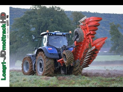 Labour D Automne Au Petit Matin New Holland T7