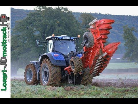 Labour D Automne Au Petit Matin New Holland T7
