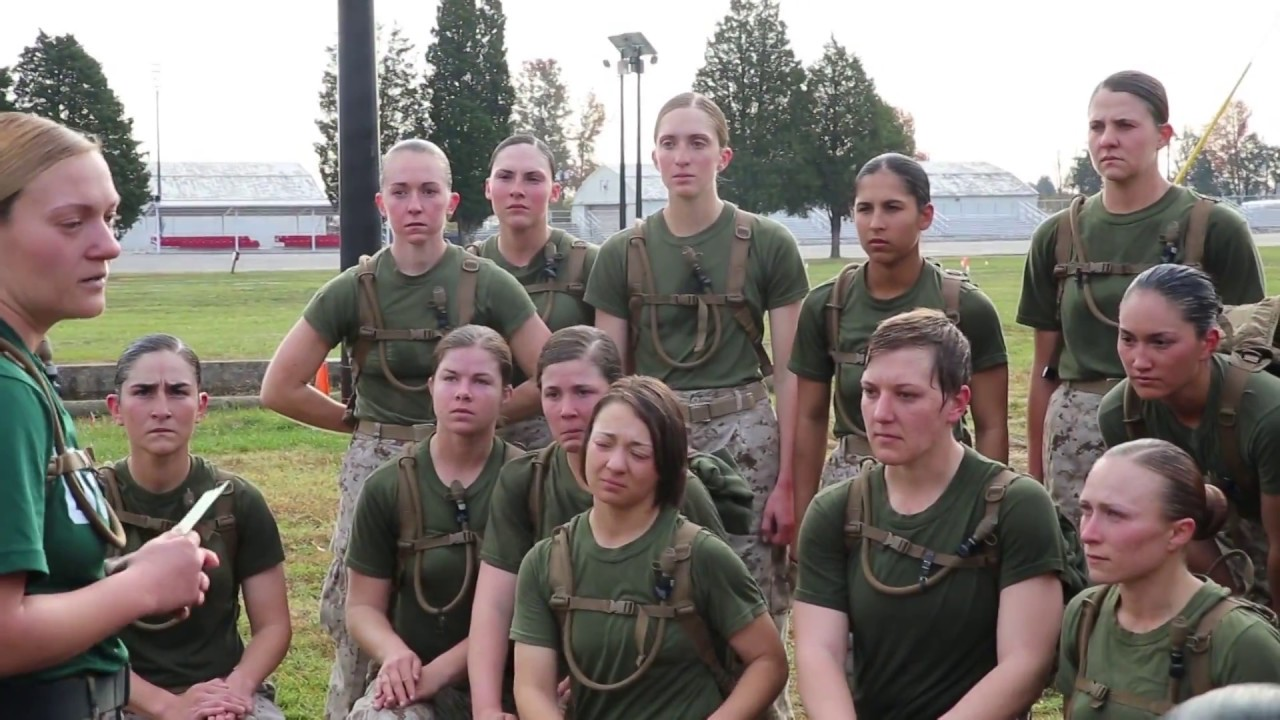 Earning the title at usmc ocs youtube - Officer training school marines ...
