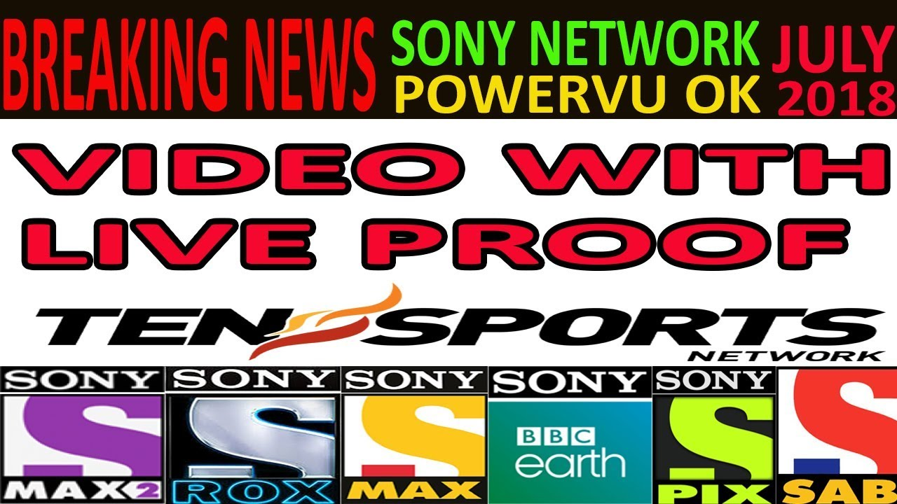 Sony Network powervu Working again at Intelsat 17 at 66 0°(July 2018)
