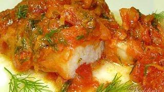Рыба тушеная с морковкой