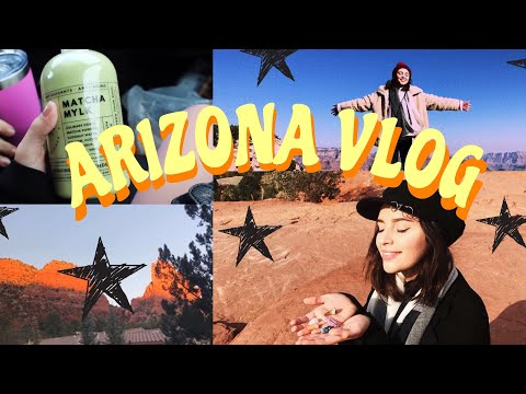 TRAVEL WITH ME// arizona vlog (sedona, grand canyon) ♡