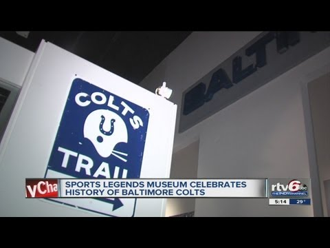 Sports Legends Museum celebrates history of Baltimore Colts