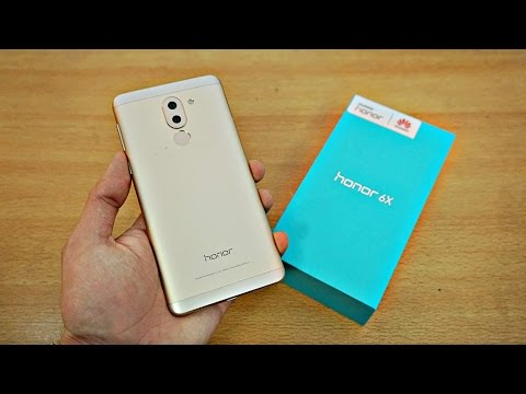 Huawei Honor 6X - Unboxing & First Look! (4K)