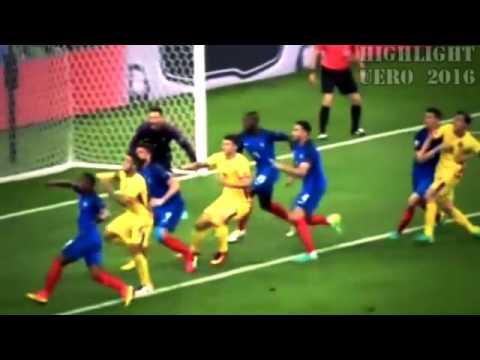 ฝรั่งเศษ 2-1 โรมาเนีย [Highlights EURO 2016 All Goals & Full  10 06 2016] HD