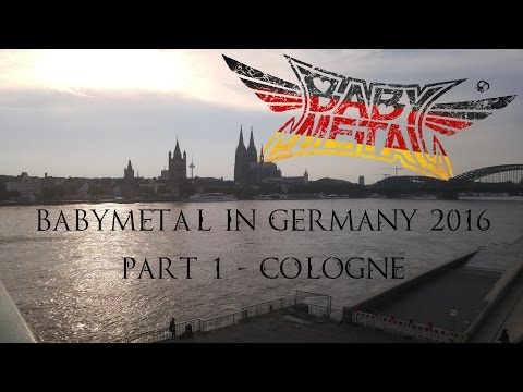 BABYMETAL in Germany 2016 - Cologne (PART. 1/4)