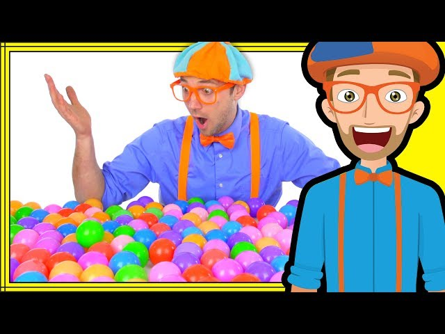 Blippi Plays And Learns At The Indoor Playground Learn